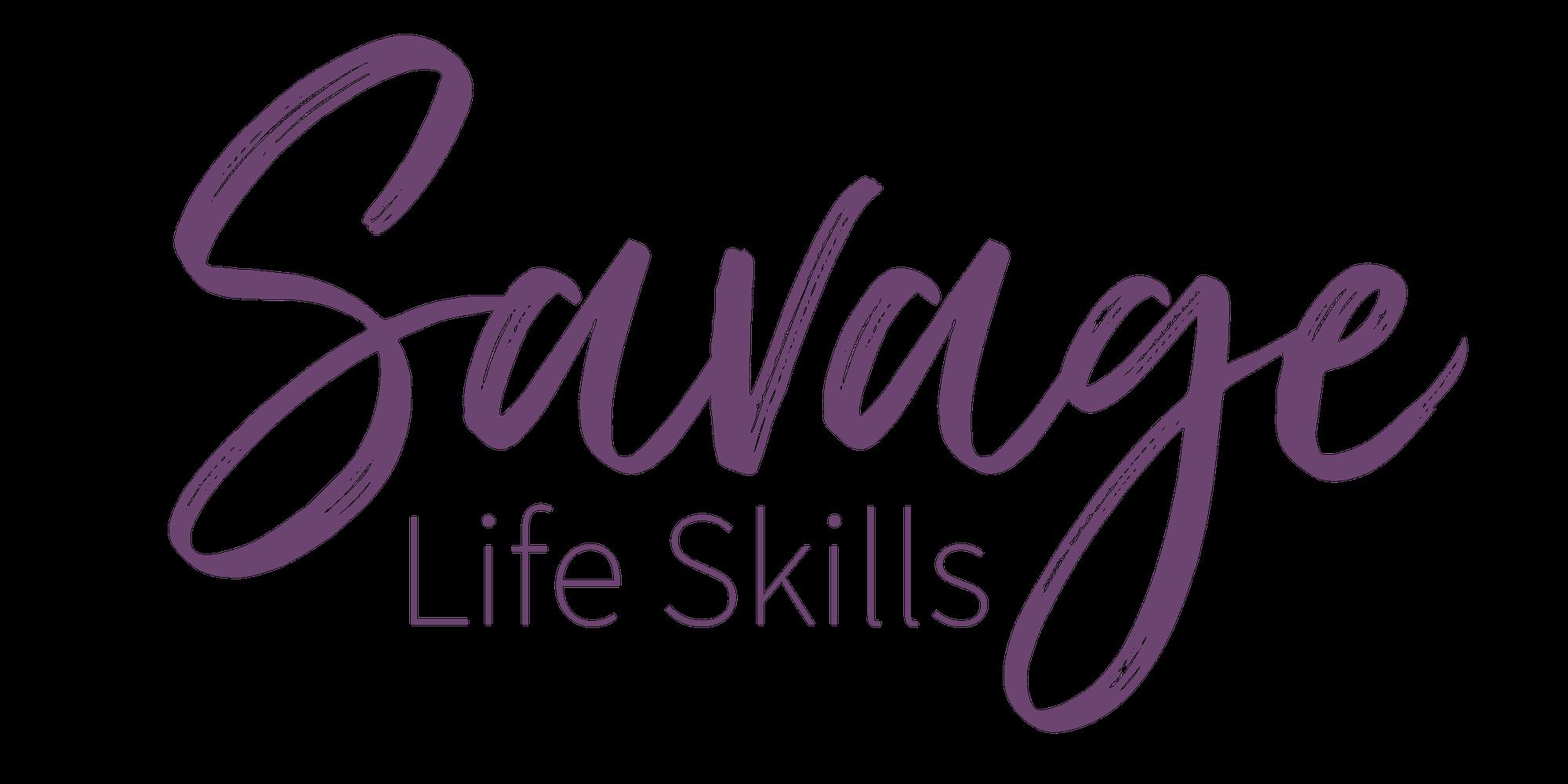 Savage Life Skills Retina Logo