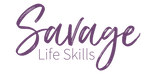 Savage Life Skills Mobile Logo